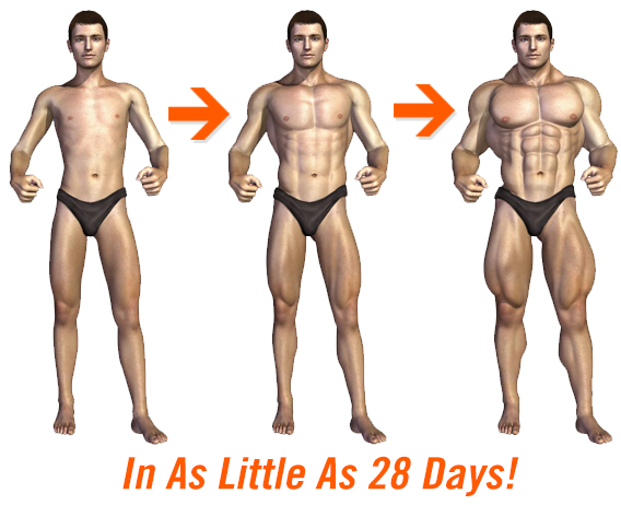 Body transformation in just 28 days!