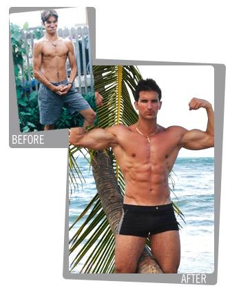 Vince Del Monte's transformation